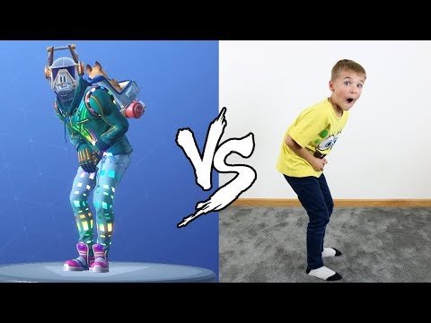FORTNITE DANCE CHALLENGE IN REAL LIFE!!! NEW SEASON 6 DANCES