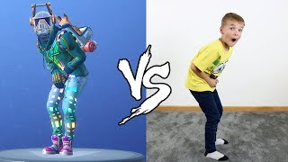 FORTNITE DANCE CHALLENGE IN REAL LIFE!!! NOUVEAU SEASON 6 DANCES