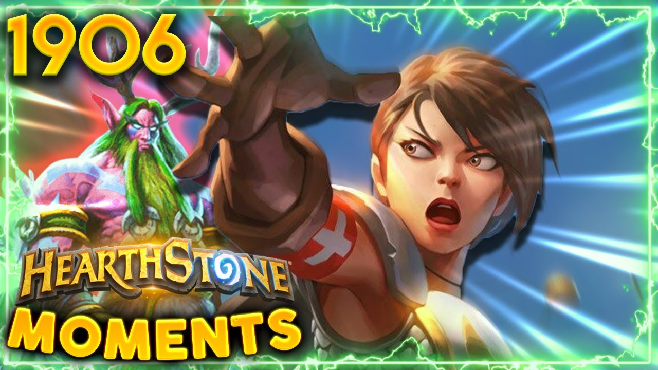 Priests Are Tough But HAVE YOU SEEN A DRUID Yet?   Hearthstone Daily Moments Ep.1906