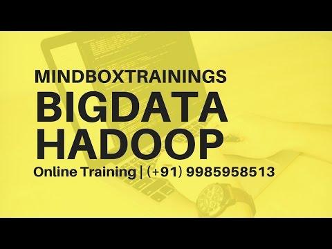Hadoop BigData Online Training USA | BigData Hadoop Online Training in UK | MindBox Training Online