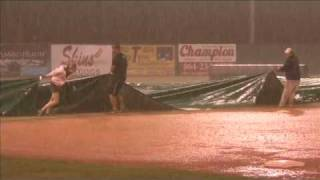 Epic Rain Storm at Minor League Baseball Game (126)