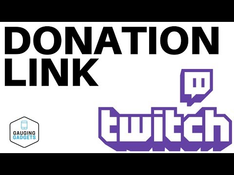 How To Add A Donation Link To Your Twitch Channel - Twitch
