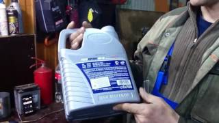 Тест масла Pentosin 0w40, нагревом 1 часть