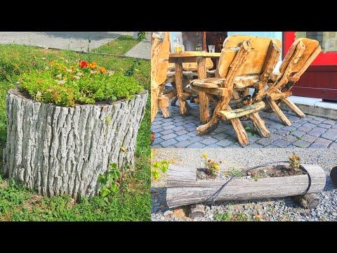 30 DIY Wood and Log Creative Design Ideas 2021 Part.3