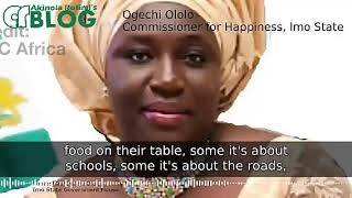 Imo State: Why Rochas Okorocha made me Commissioner for Happiness - Ogechi Ololo