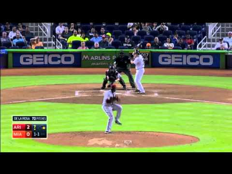 All Miami Marlins 2015 Home Runs (Part 1)