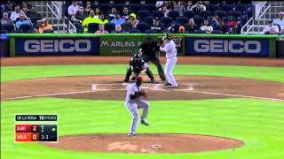 All Miami Marlins 2015 Home Runs (Part 1)