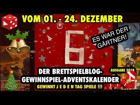 Türchen 6: Chronicles of Crime - Der große Brettspielblog Gewinnspiel Adventskalender 2018
