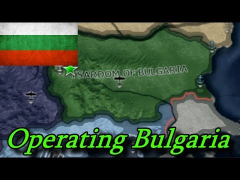 Operating Bulgaria Lion Of The Balkans Hearts Of Iron IV
