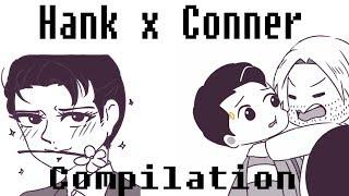 Hank x Connor Detroit Become Human [Comic Dub Compilation!!]