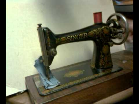 Rare Antique 40 Singer 40 Red Eye Treadle Only Sewing Machine Amazing Red Eye Singer Sewing Machine