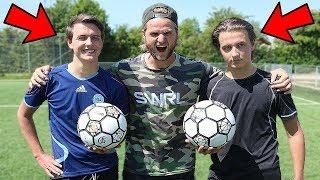 Jeg har 2 tvillinger med! Hvem er bedst til fodbold? ▻Kender du det...