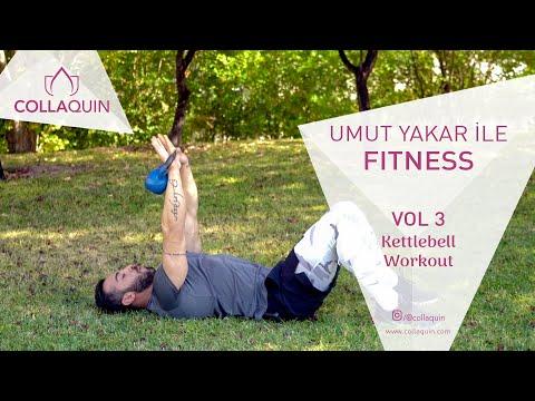 Umut Yakar İle Fitness | Vol 3 | Kettlebell Workout