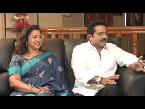 Chennayil Oru Dhivasam I Interview with Sarath Kumar & Radhika - Part 1 I Mazhavil Manorama