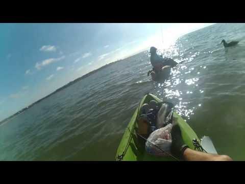 Pesca en Kayak Jose Ignacio, Maldonado Uruguay