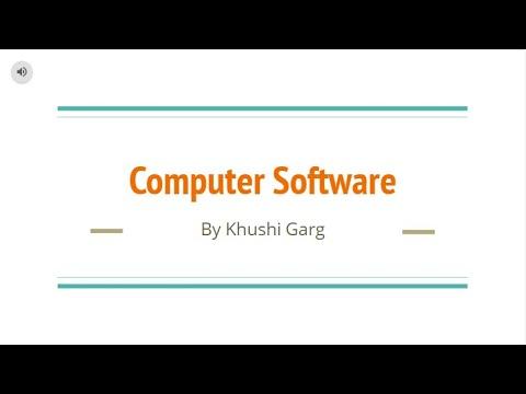 Computer Software- Computer Video 8