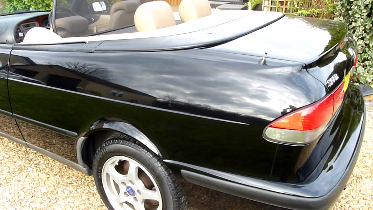 Video Review Of 2000 Saab 9 3 Convertible For Sdsc Specialist Cars Cambbridge