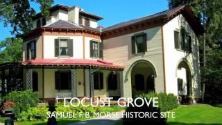 Locust Grove - Samuel Morse House in Poughkeepsie, N. Y.