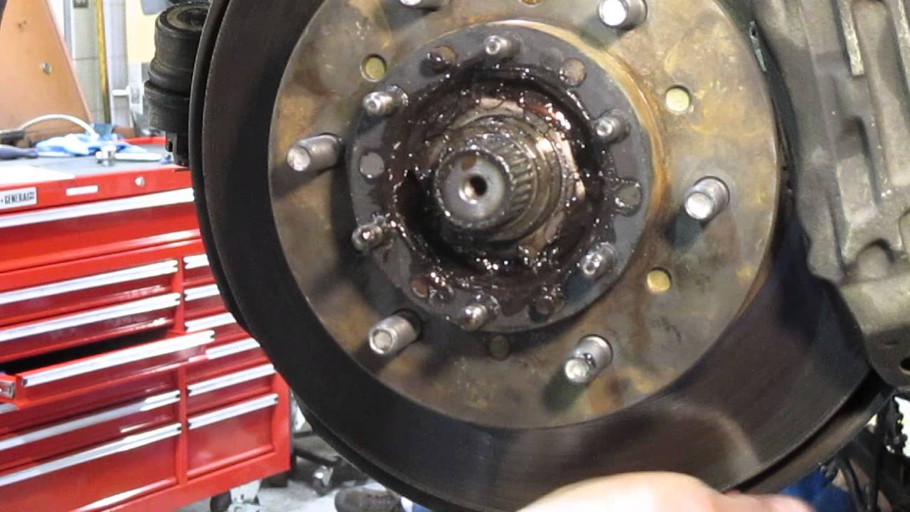 4x4 Wheel Bearing Adjustment  YouTube