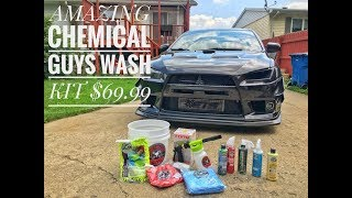 CHEMICAL GUYS PACKAGE!!