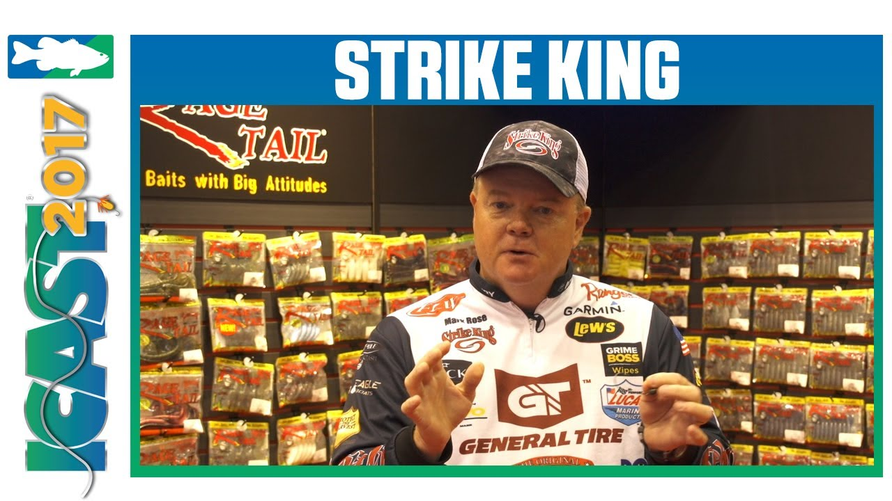 ce0335d25a Strike King Tour Grade Mag Jig Head with Mark Rose