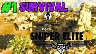 Sniper Elite 3 Survival Walkthrough Ep.1 | Hellfire! (Part 1) [PC HD]