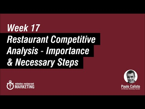 How To Do A Competitive Analysis For A Restaurant