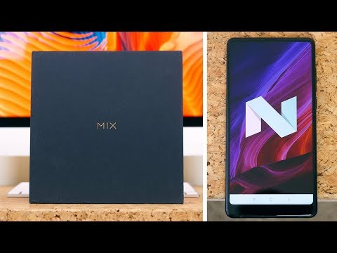 Xiaomi Mi Mix 2 Unboxing and First Look