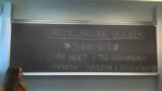 Uregelmæssige verber (ing-form)