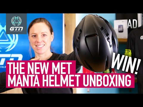 The New MET Manta Mips Aero Road Helmet! | GTN Unboxing