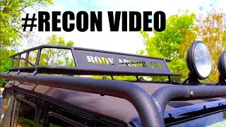 jeep jk roof rack x body armor 4x4 recon video