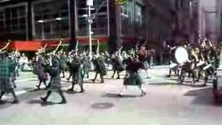 Scots parade in New York