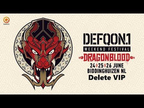 Defqon1 Festival 2016 I Delete VIP I Blue Stage