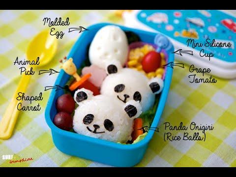 How to Make Panda Rice Balls Tutorial