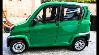 Bajaj Qute (Cute) Quadricycle Launched at Rs.1.30 Lakhs, Walkaround