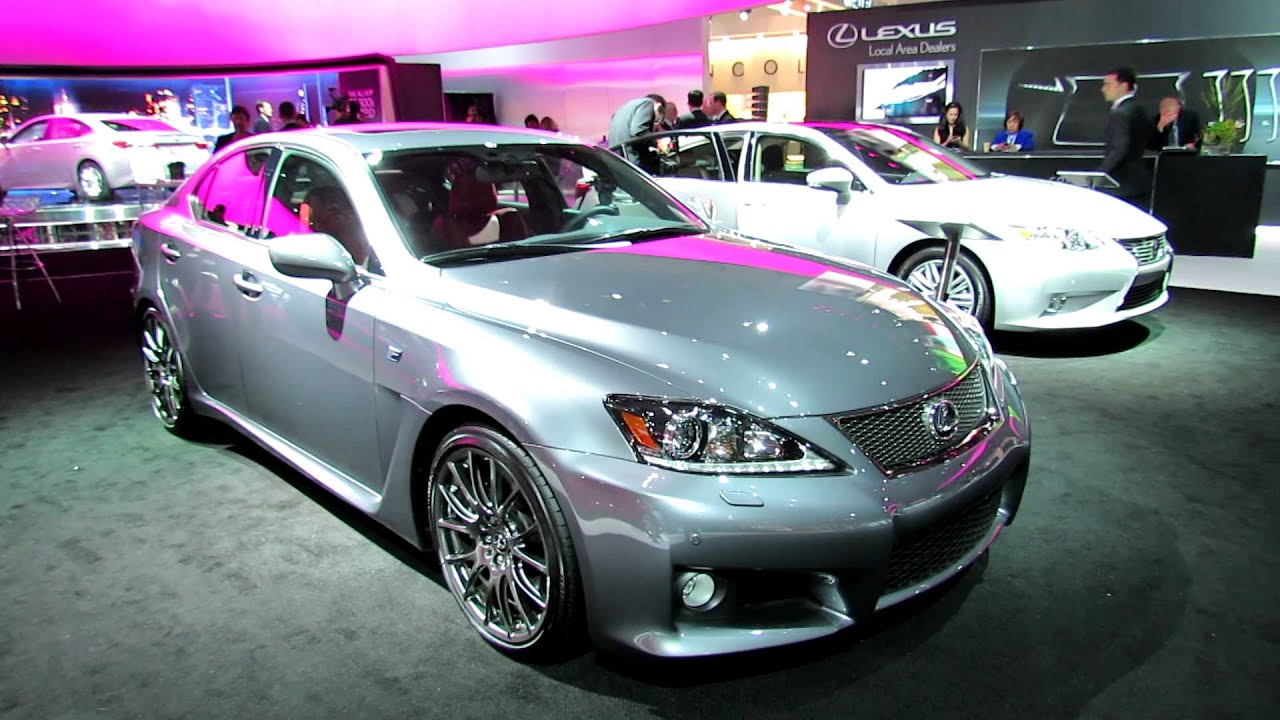 2012 lexus is f exterior and interior at 2012 new york. Black Bedroom Furniture Sets. Home Design Ideas