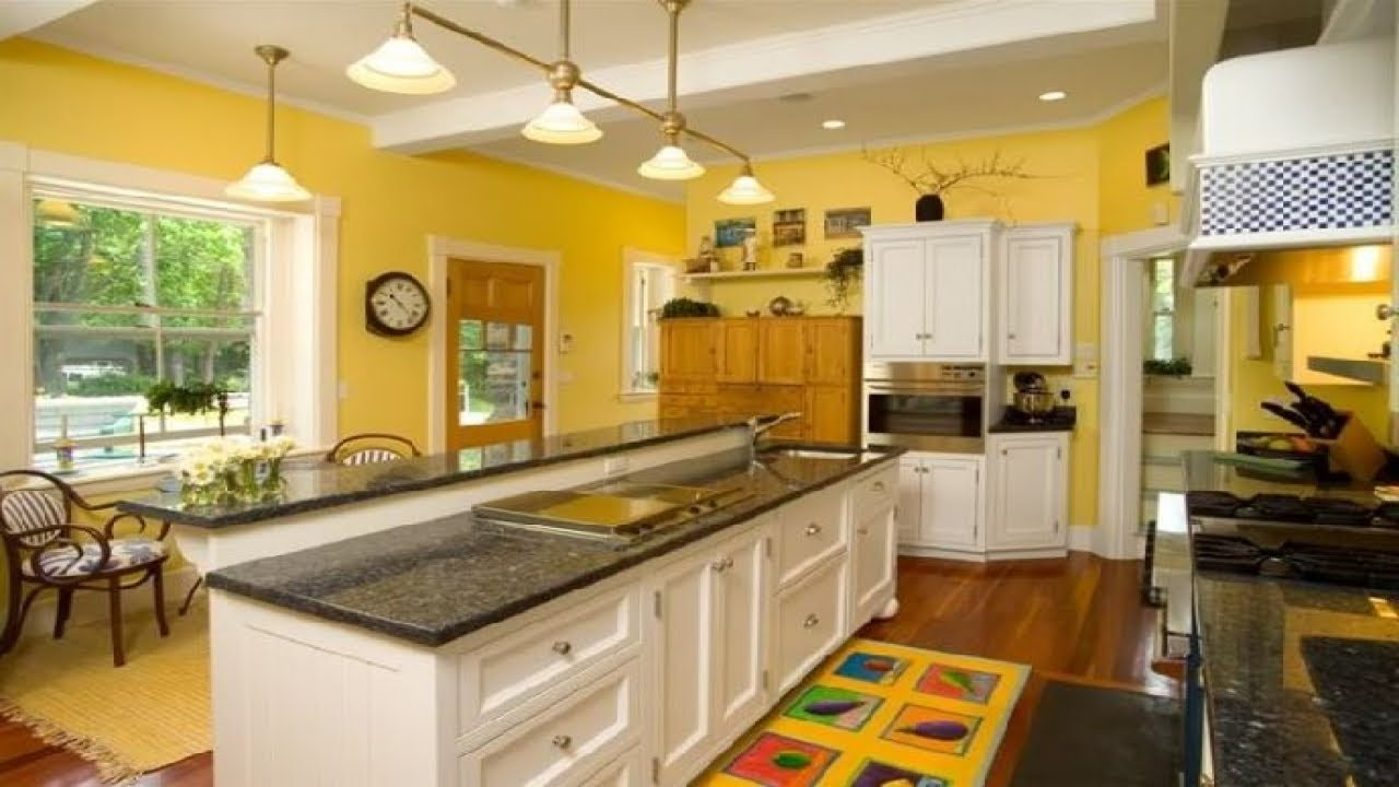 amazing green yellow kitchen | Kitchen Design: Cozy and Bright Yellow Kitchens Ideas ...