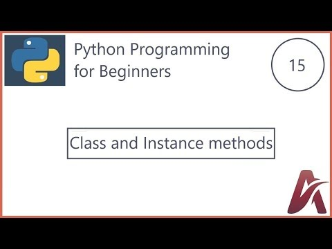 Python for begginers #15 class, instance, method concepts using Account appliation