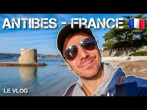 Antibes une perle de la Côte d'azur en France