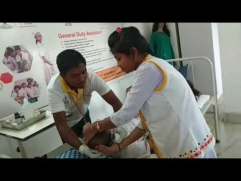 GDA students kalyani pmkk emergency situation handeling