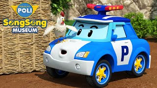 The Bear Went Over The Mountain &+ | Nature Songs for Kids | SongSong Museum | Robocar POLI TV