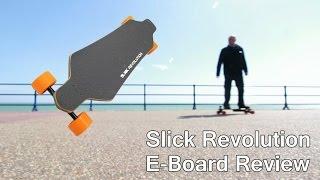 Slick Revolution Max E-board Ride And Review