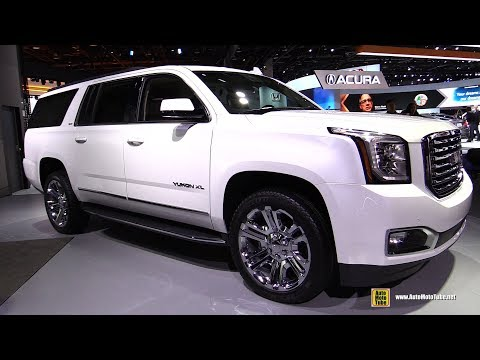 2018 GMC Yukon XL - Exterior and Interior Walkaround - 2018 Detroit Auto Show