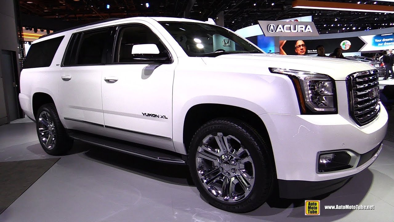 Superior 2018 GMC Yukon XL   Exterior And Interior Walkaround   2018 Detroit Auto  Show Amazing Design