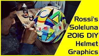 The Making of Valentino Rossi's Soleluna 2016 Graphic Helmet thumbnail