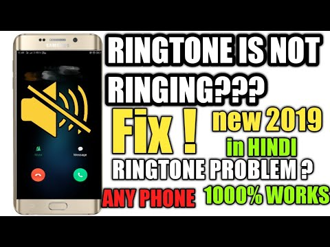 How To Fix Ringtone Problem Of Android Phone|| Ringtone Problem Fix Any Phone||in Hindi