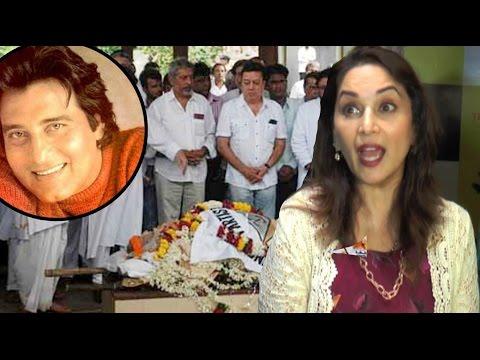 Vinod Khanna's Dayavan Co-star Madhuri Dixit REACTES On His Death