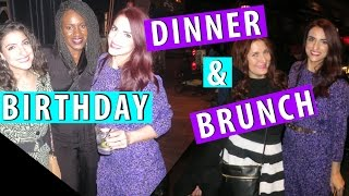 Happy Birthday to Me Dinner & Brunch |Countdown To My Birthday Finale|#ShanaEmily