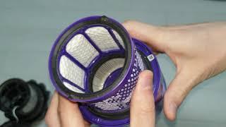 다이슨 청소기 V10 작동원리, 공기흐름, 2중 필터(…