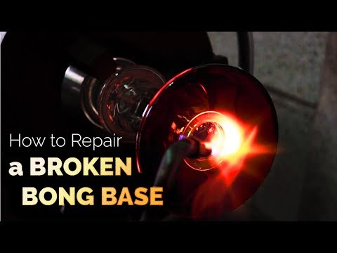 How to Repair a Broken Bong Base | by Purr